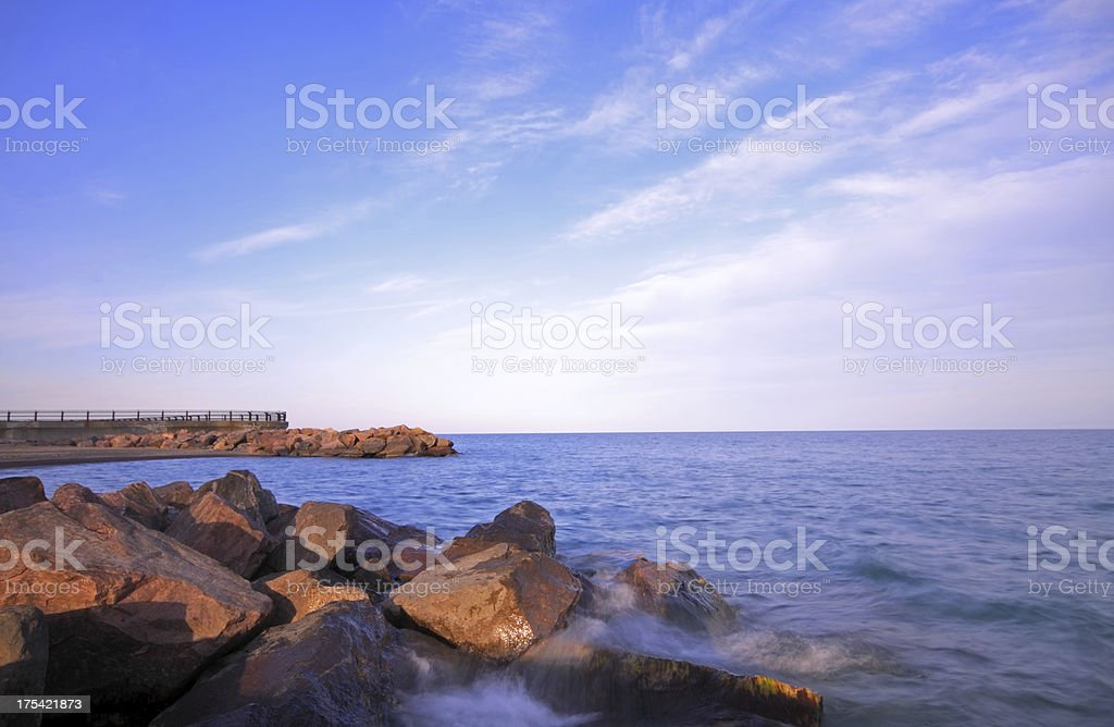 Lake Ontario Landscape stock photo