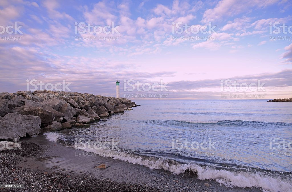 Lake Ontario Lighthouse royalty-free stock photo