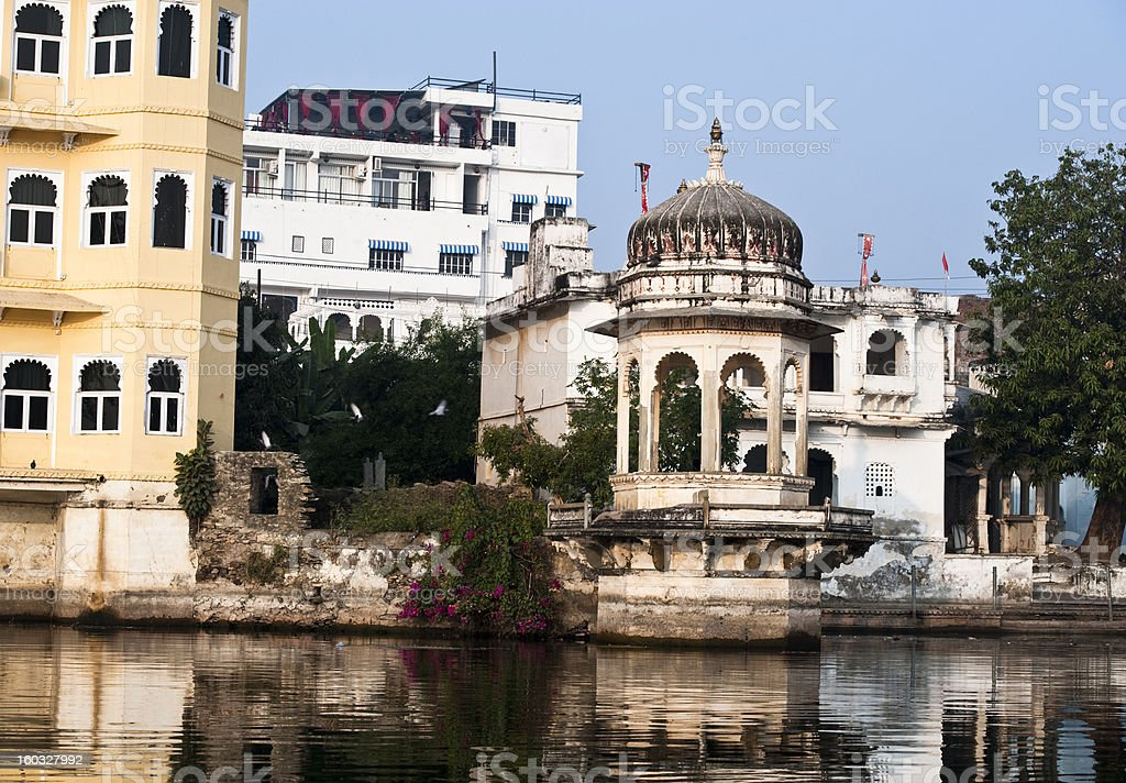 Lake Palace in Udaipur, India royalty-free stock photo