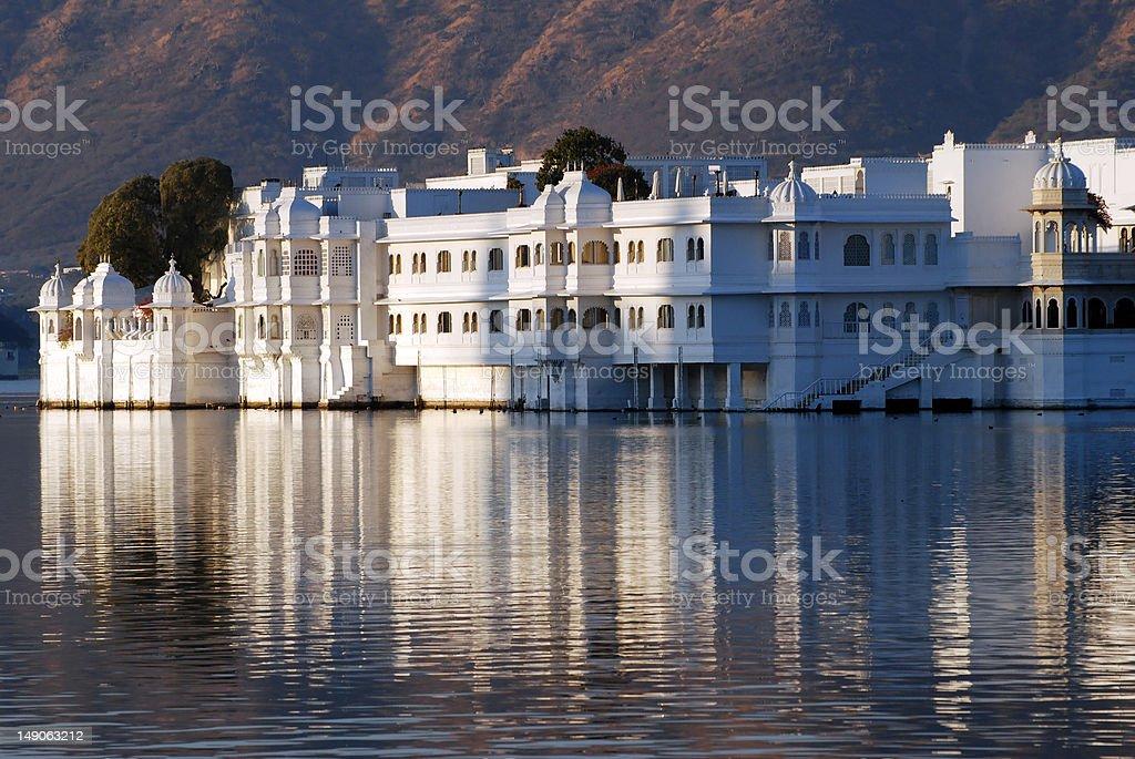 Lake Palace royalty-free stock photo