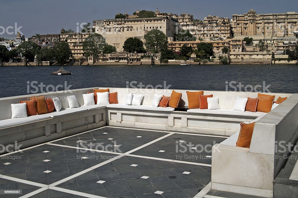 Lake Palace royalty-free stock photo