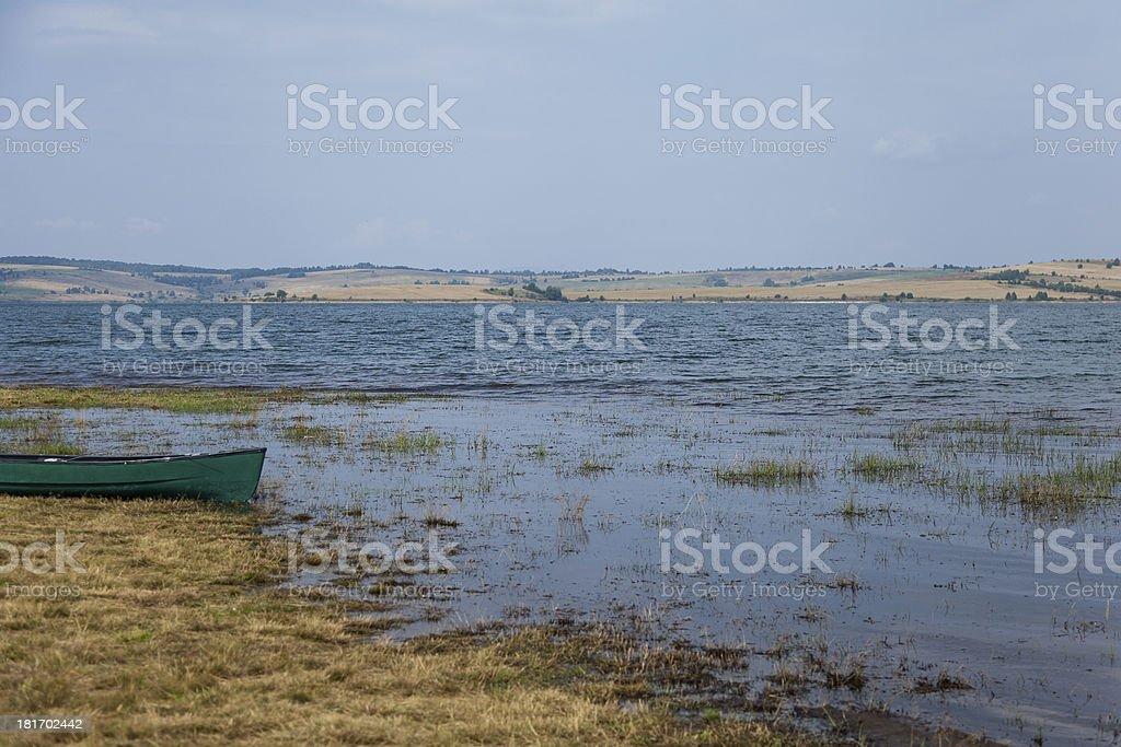 Lake panorama royalty-free stock photo
