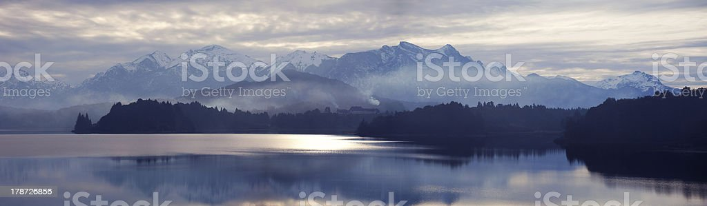 Lake Perito Moreno, Bariloche, Argentina royalty-free stock photo