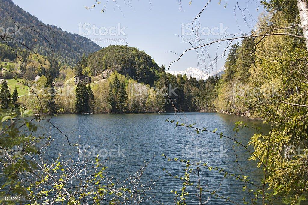 Lake Piburg, Austria stock photo