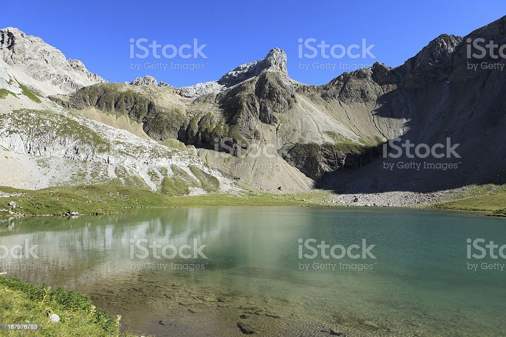 Bergsee royalty-free stock photo