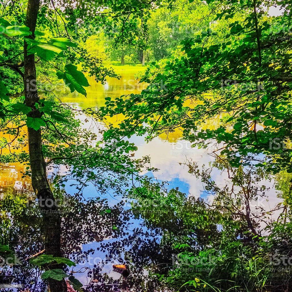 lake royalty-free stock photo