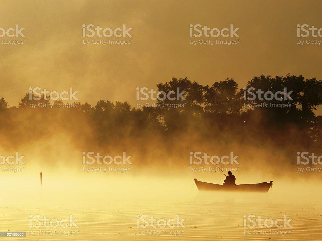 Lake Pierty. Wigierski national park. royalty-free stock photo