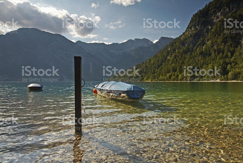 lake plansee royalty-free stock photo