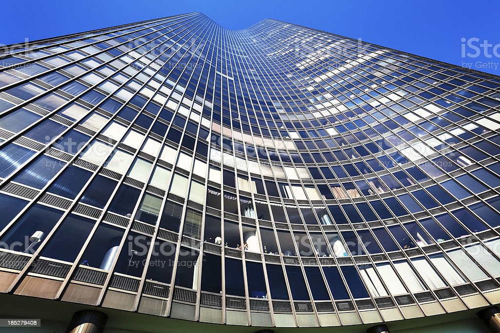 Lake Point Tower, Chicago stock photo
