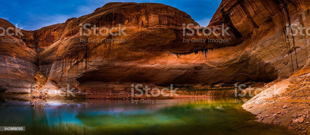 Lake Powell Lost Eden stock photo