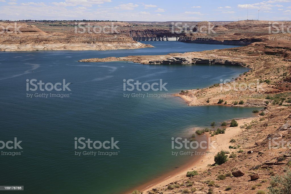 Lake Powell royalty-free stock photo