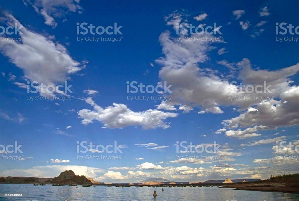 Lake Powell royalty-free stock photo
