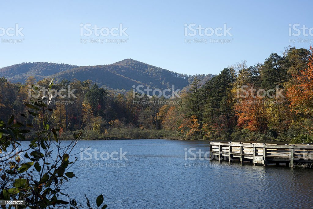 Lake Powhatan royalty-free stock photo