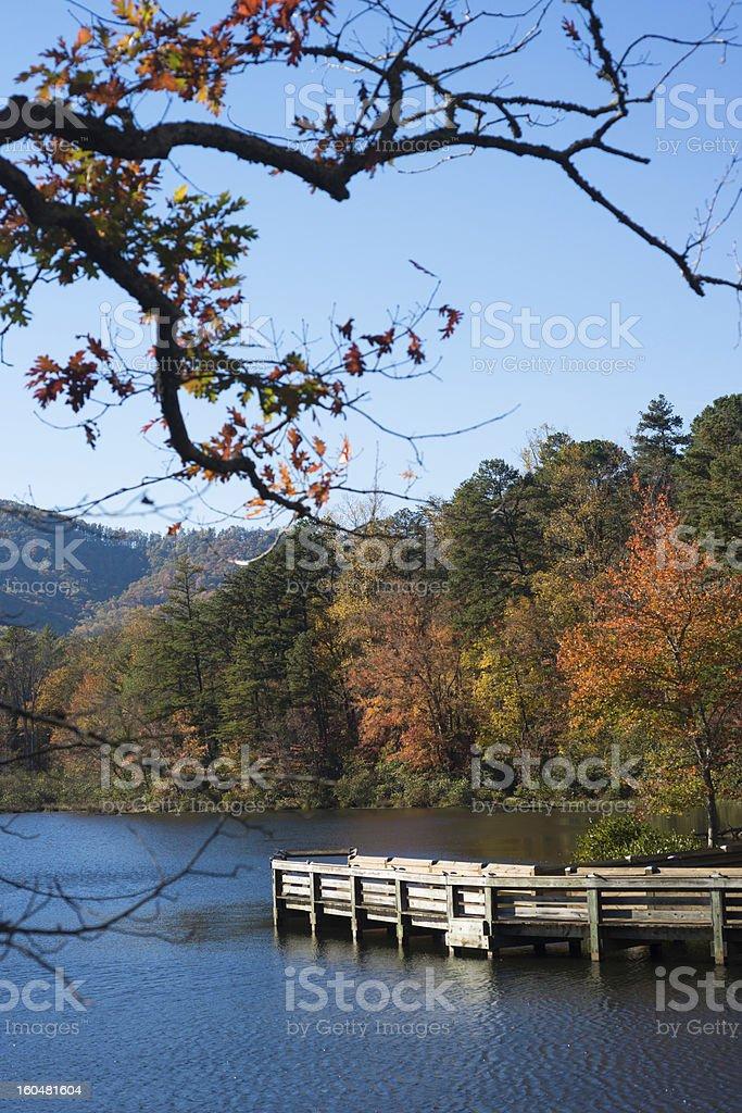 Lake Powhatan royalty-free stock photo