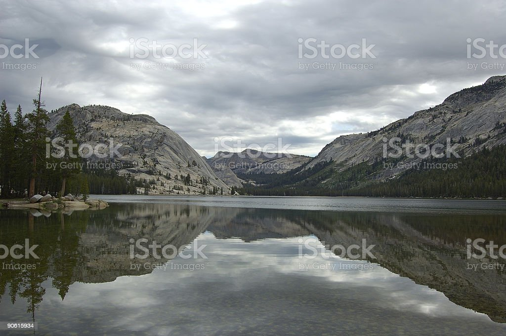 Lake Reflection stock photo