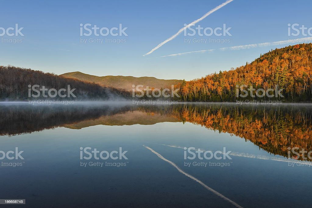 Lake Reflections stock photo