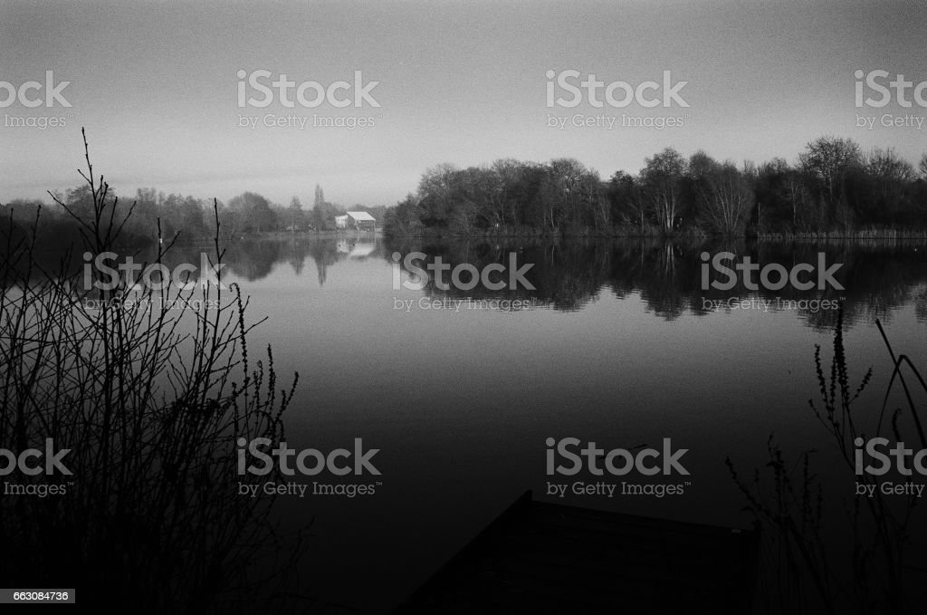 lake river stock photo