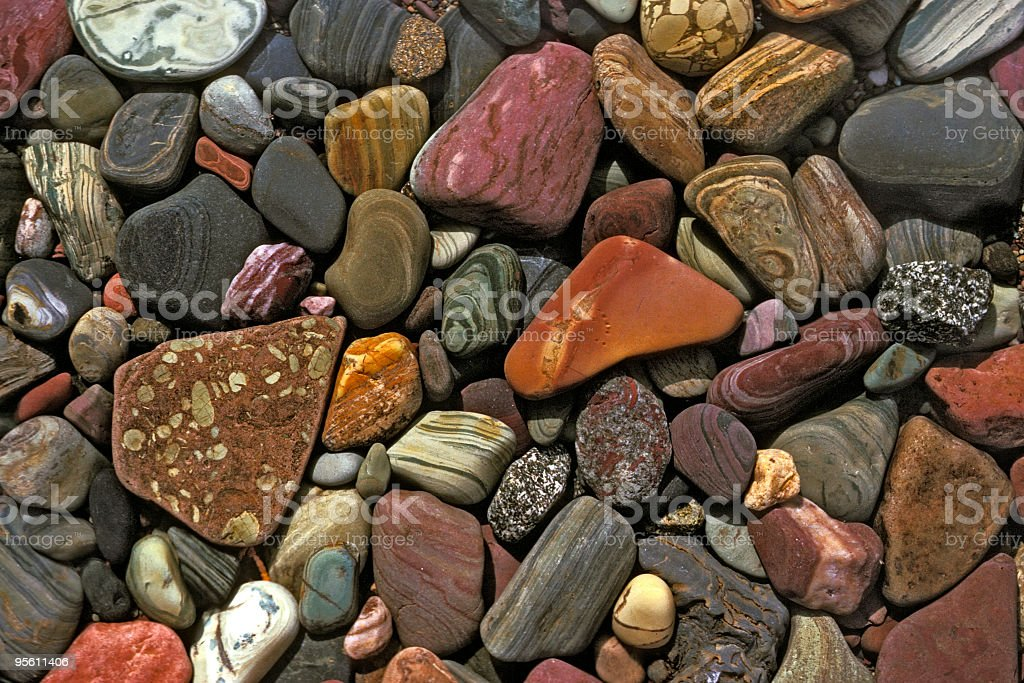Lake Rocks royalty-free stock photo