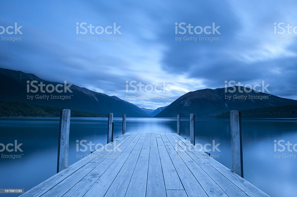 Lake Rotoiti royalty-free stock photo