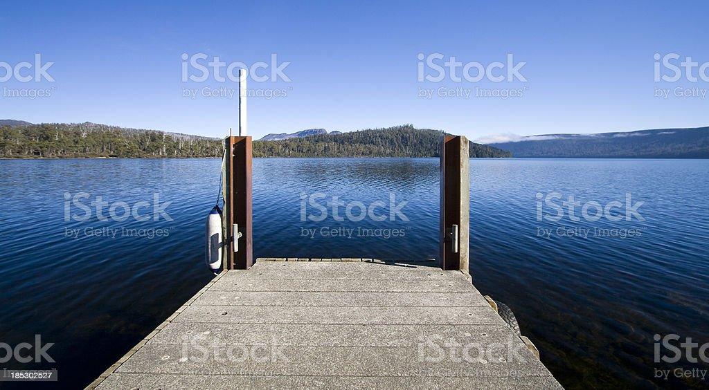 Lake Saint Clair royalty-free stock photo