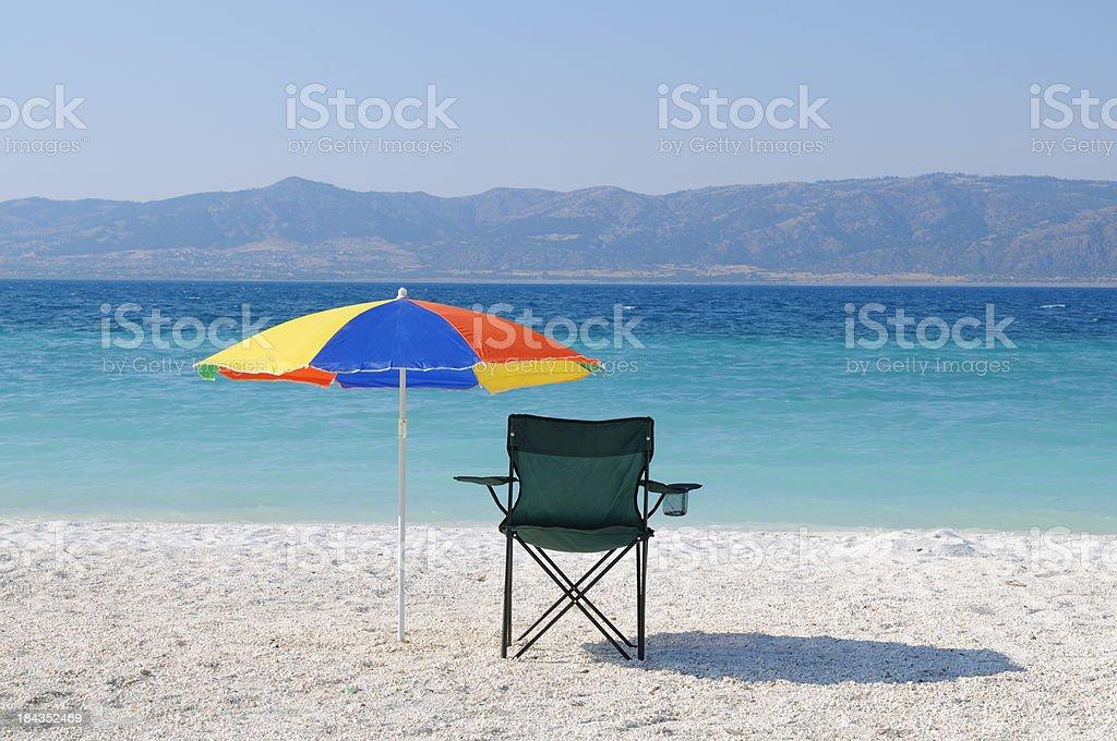 Lake Salda royalty-free stock photo