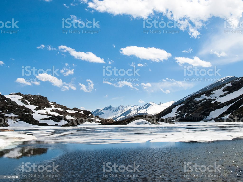 Lake San Bernardino stock photo