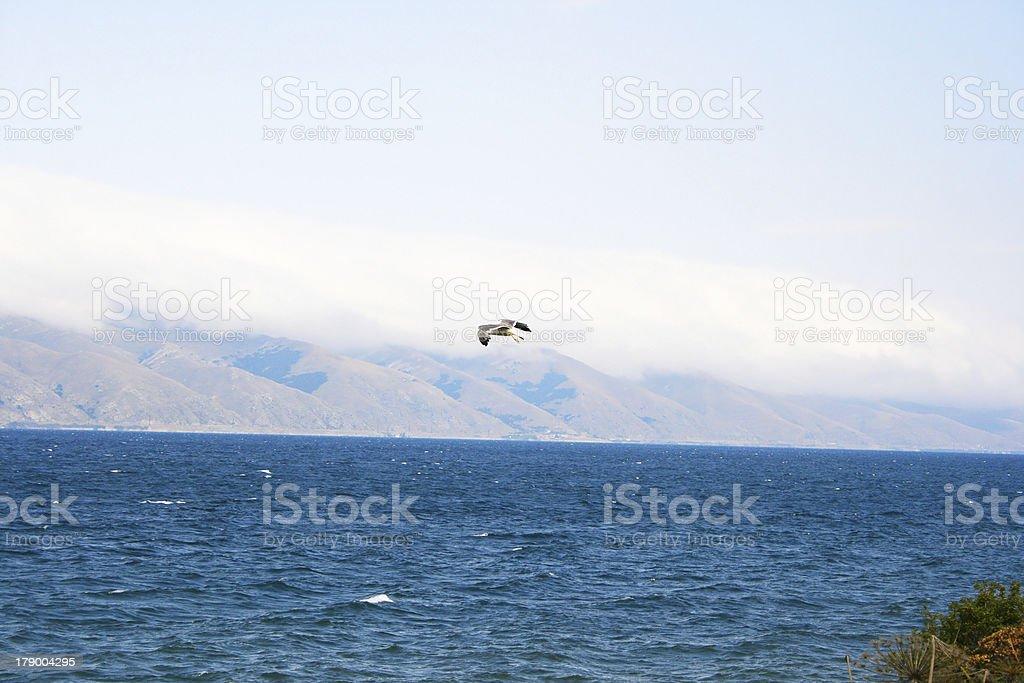 Lake Sevan royalty-free stock photo