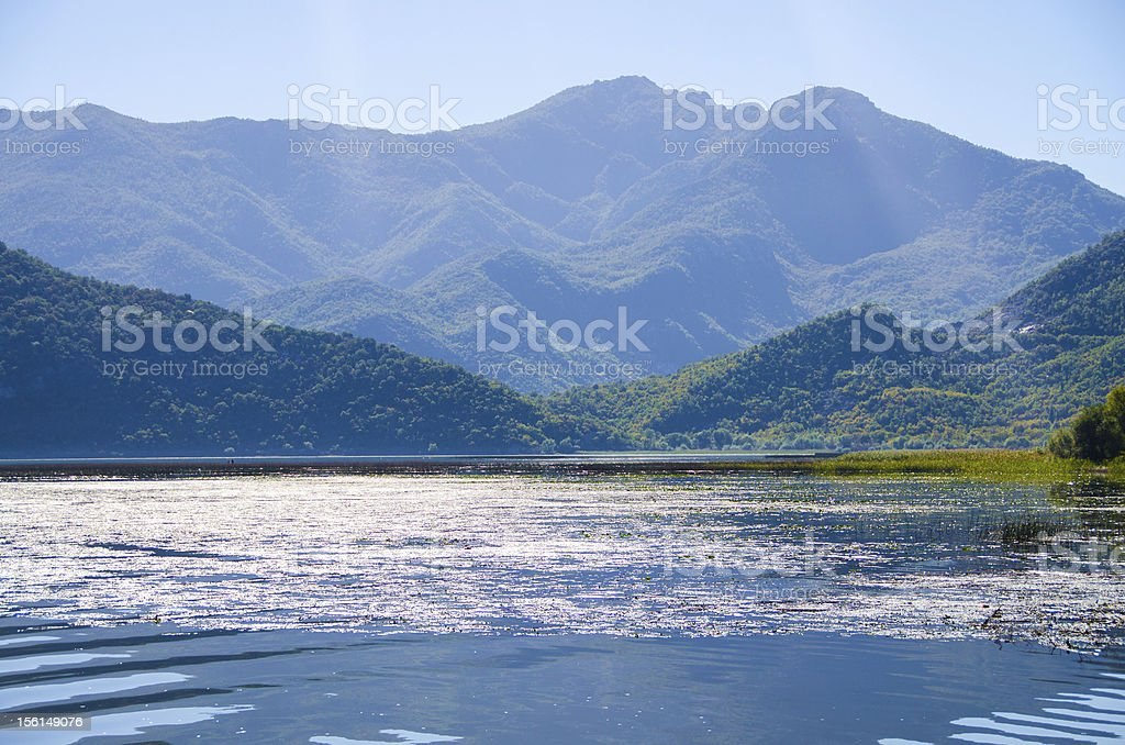 Lake Skadar, Montenegro, Europe stock photo