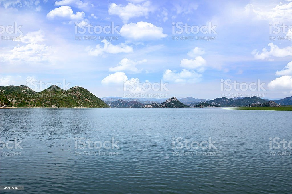 Lake Skadar National Park, Montenegro stock photo
