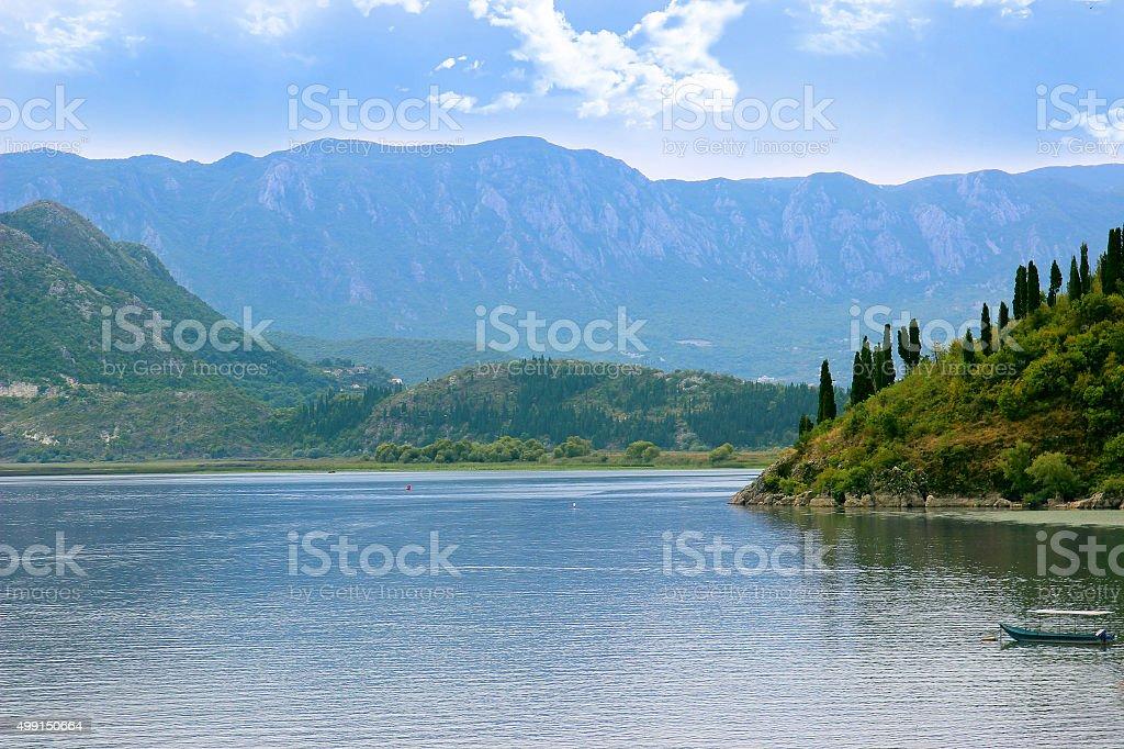 Lake Skadar National Park, Montenegro stock photo