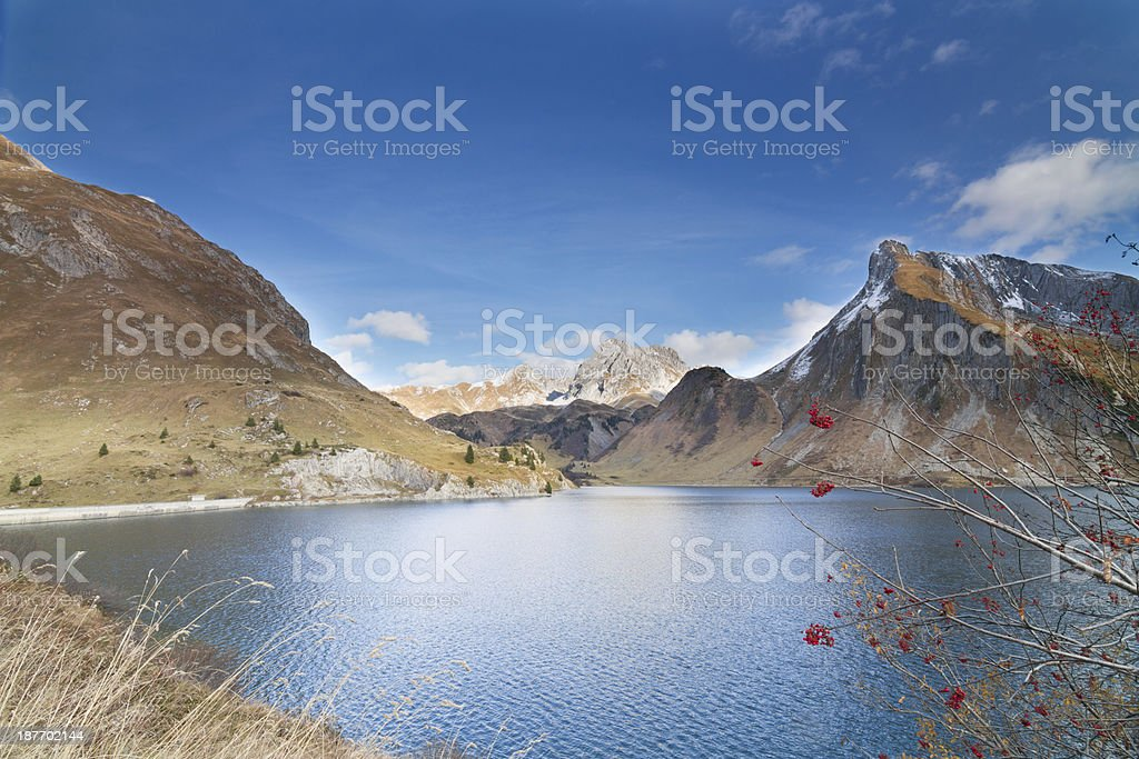 Lake Spullersee stock photo