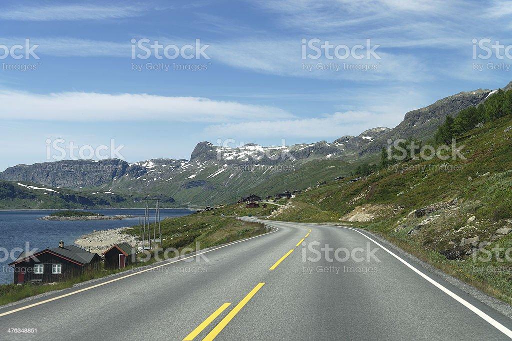 Lake Strandavatn stock photo