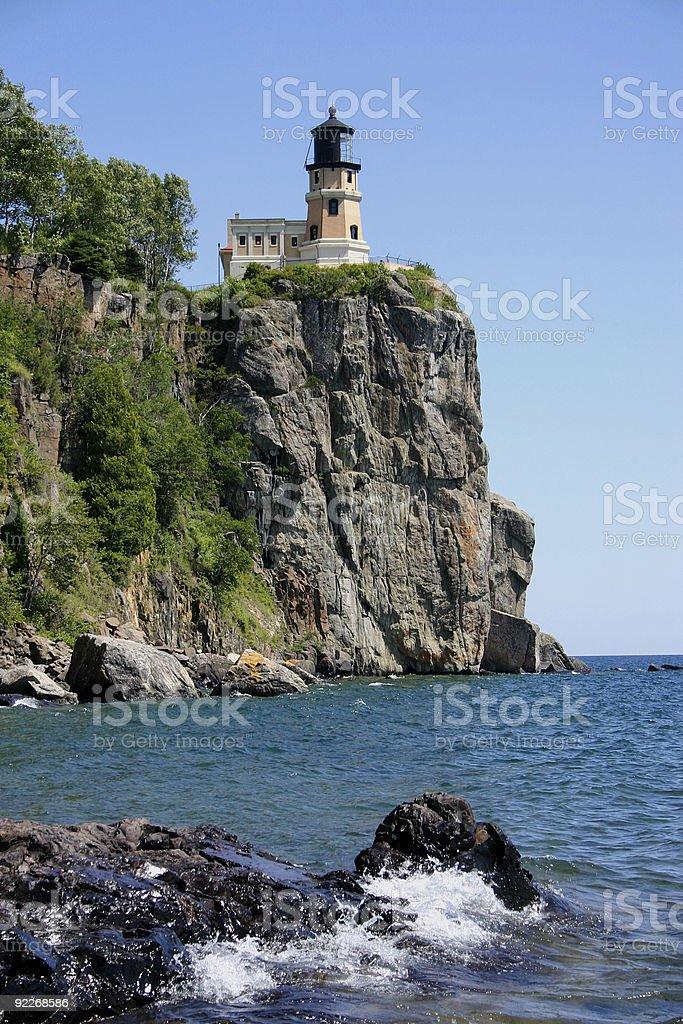 Lake Superior Lighthouse stock photo