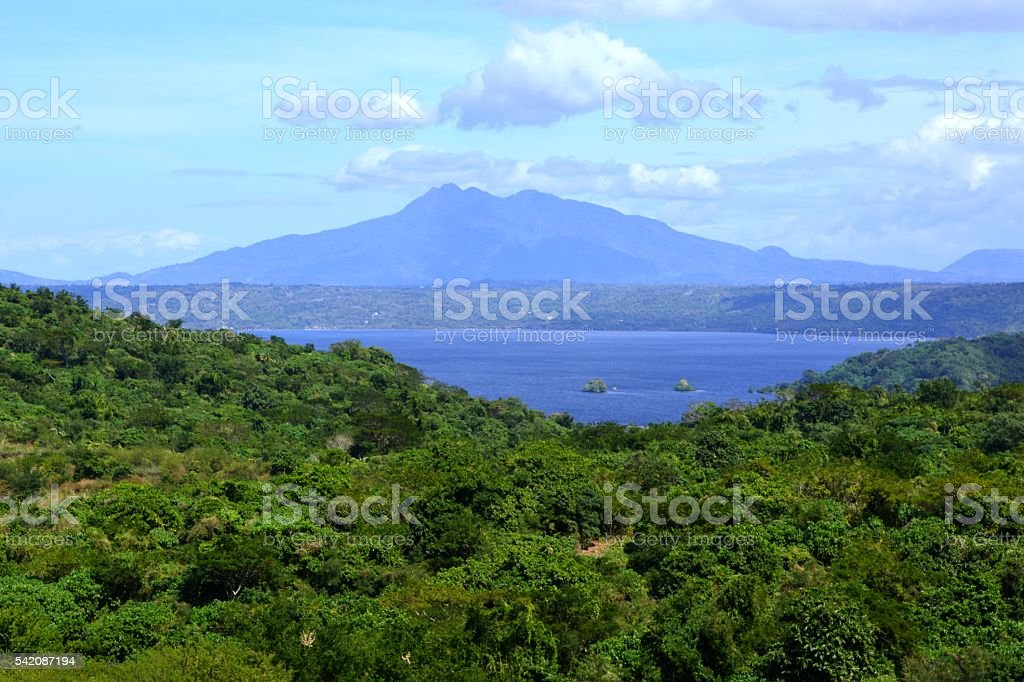 Lake Taal, Philippines stock photo