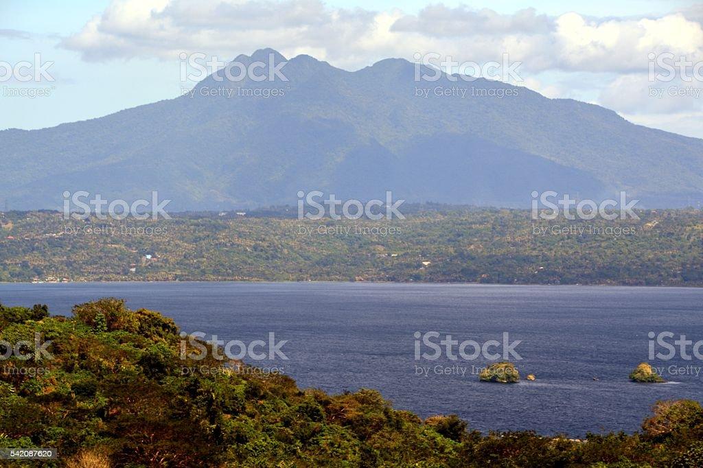 Lake Taal, Philippines stock photo