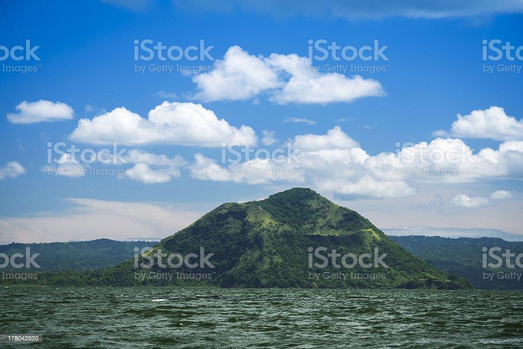 lake taal volcano tagaytay philippines royalty-free stock photo