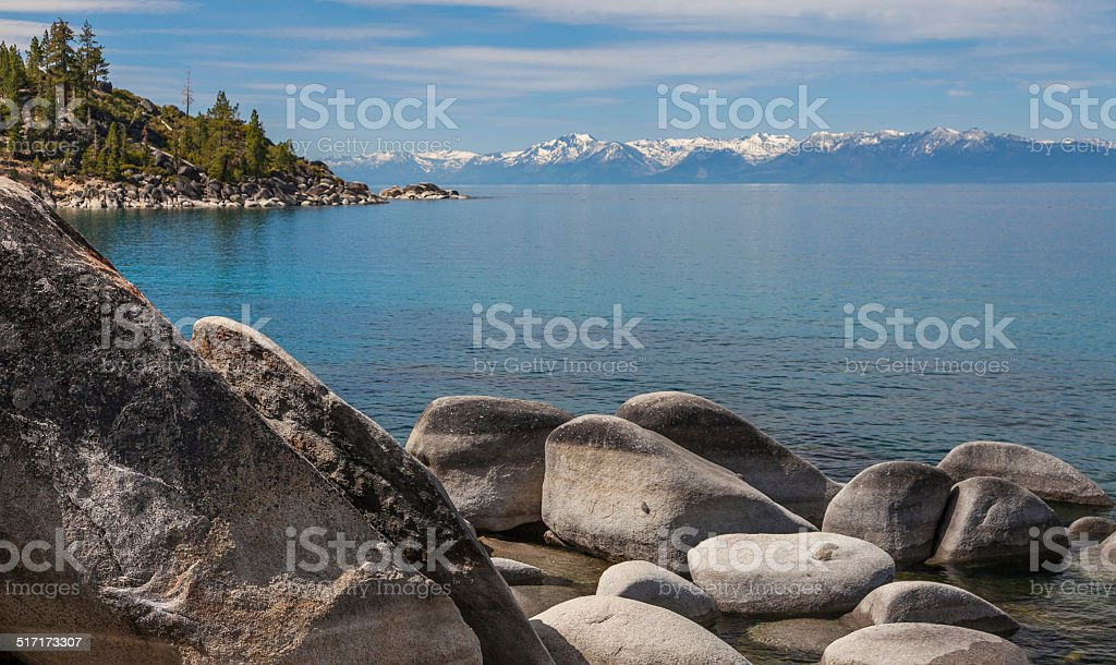 Lake Tahoe, Nevada - Sand Harbor State Park stock photo