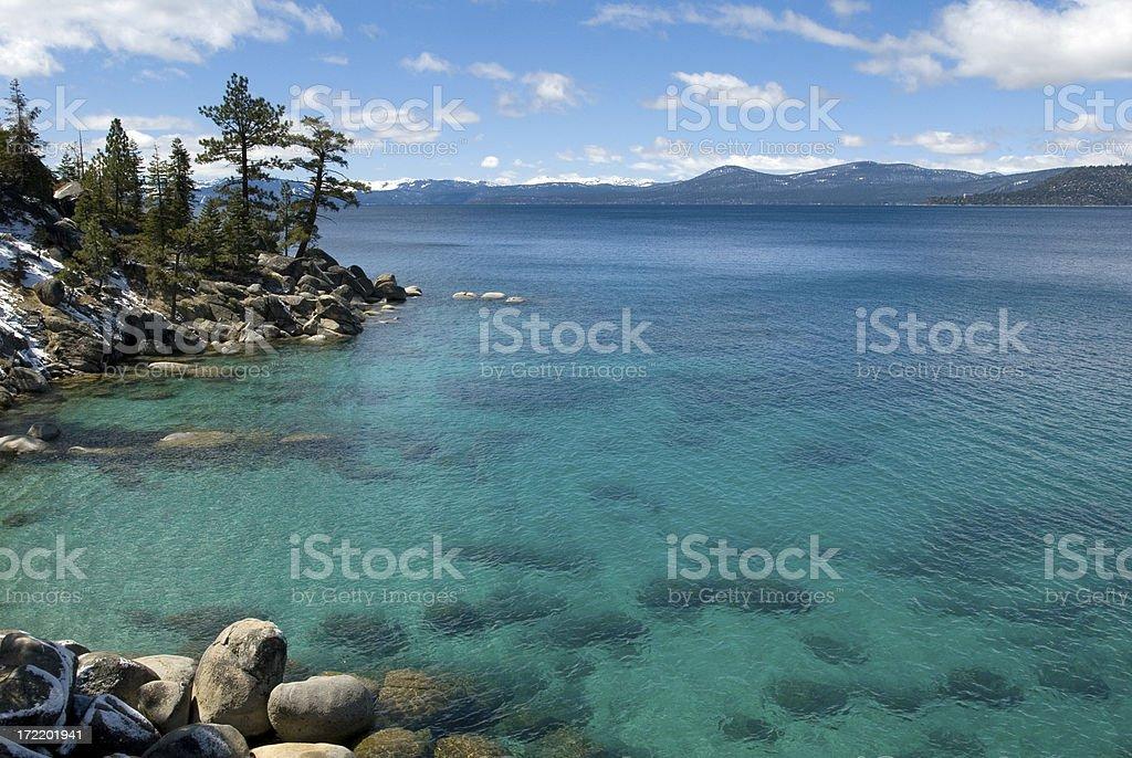 Lake Tahoe North Shoreline#1 royalty-free stock photo
