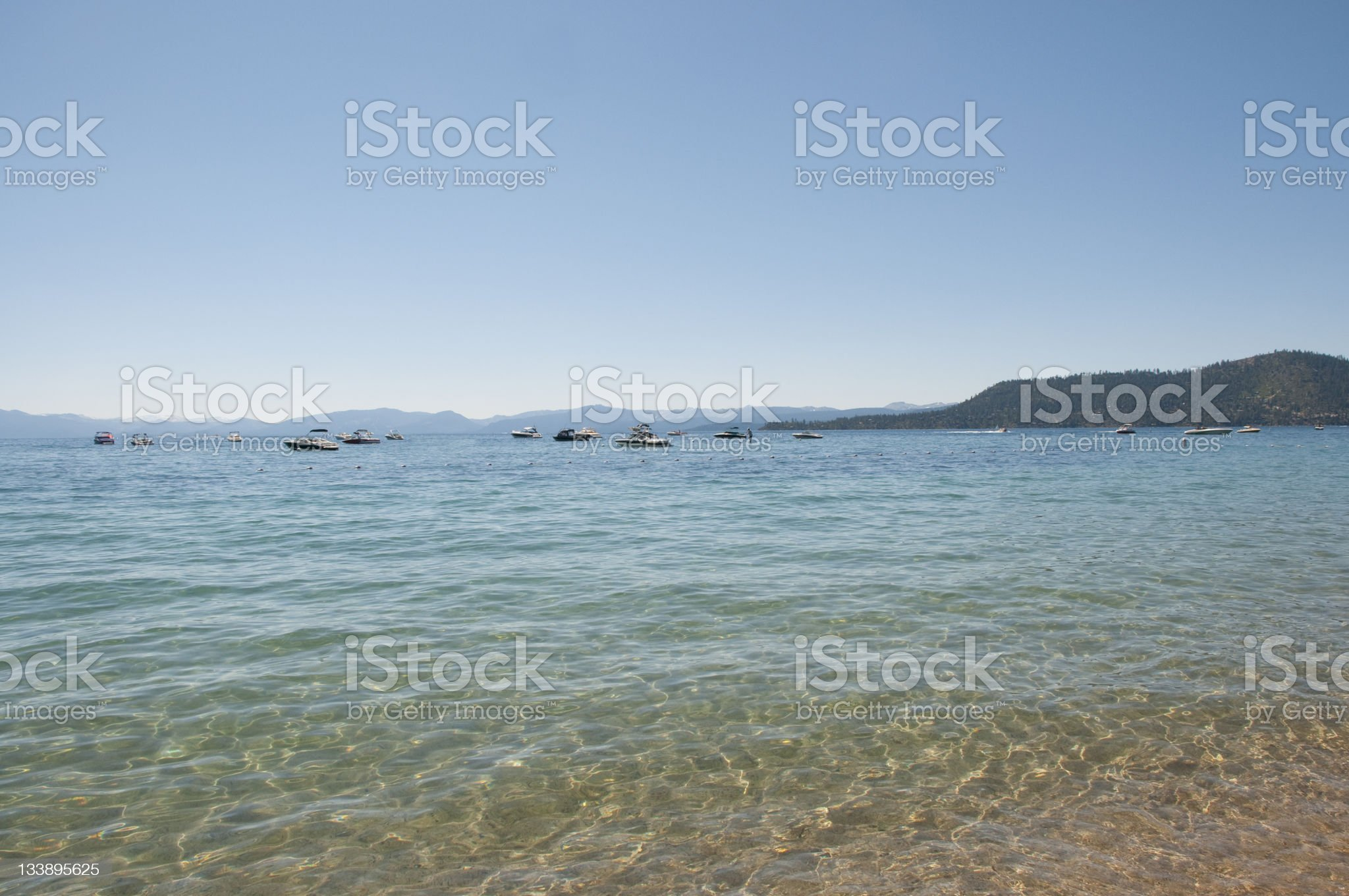 Lake Tahoe royalty-free stock photo