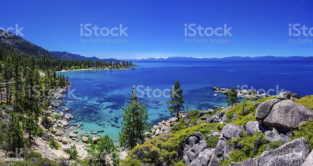 Lake Tahoe Summerscape stock photo