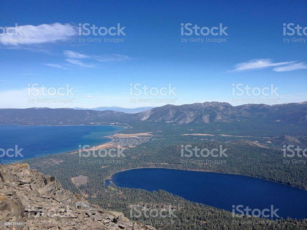 Lake Tahoe Valley stock photo