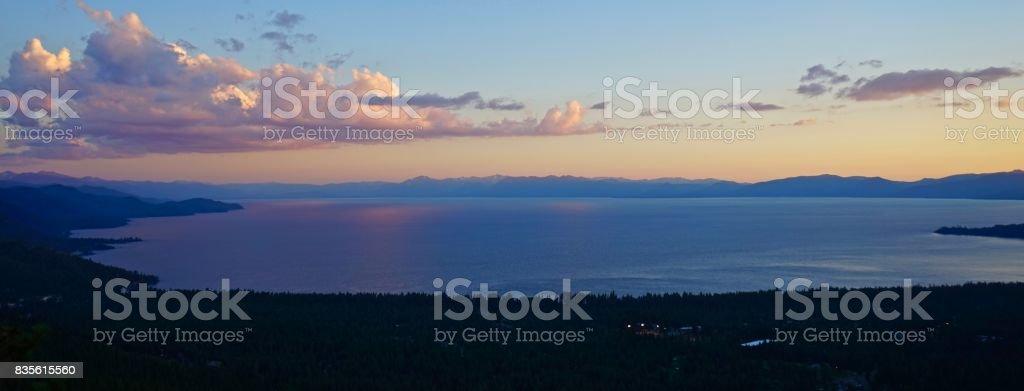 Lake Tahoe Water stock photo