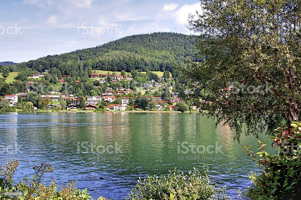 Lake Tegernsee stock photo