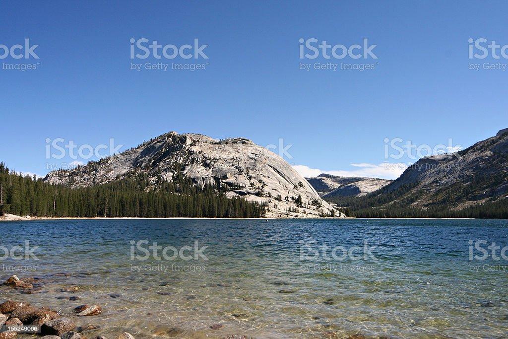 Lake tenaya stock photo