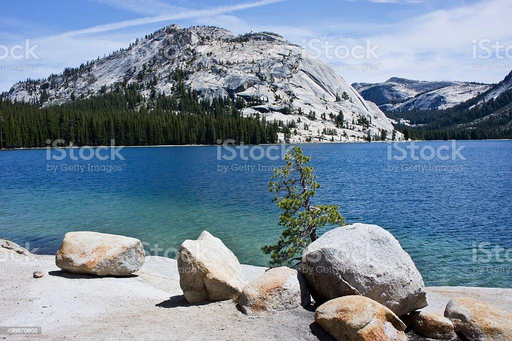 Lake Tenaya - Yosemite National Park stock photo