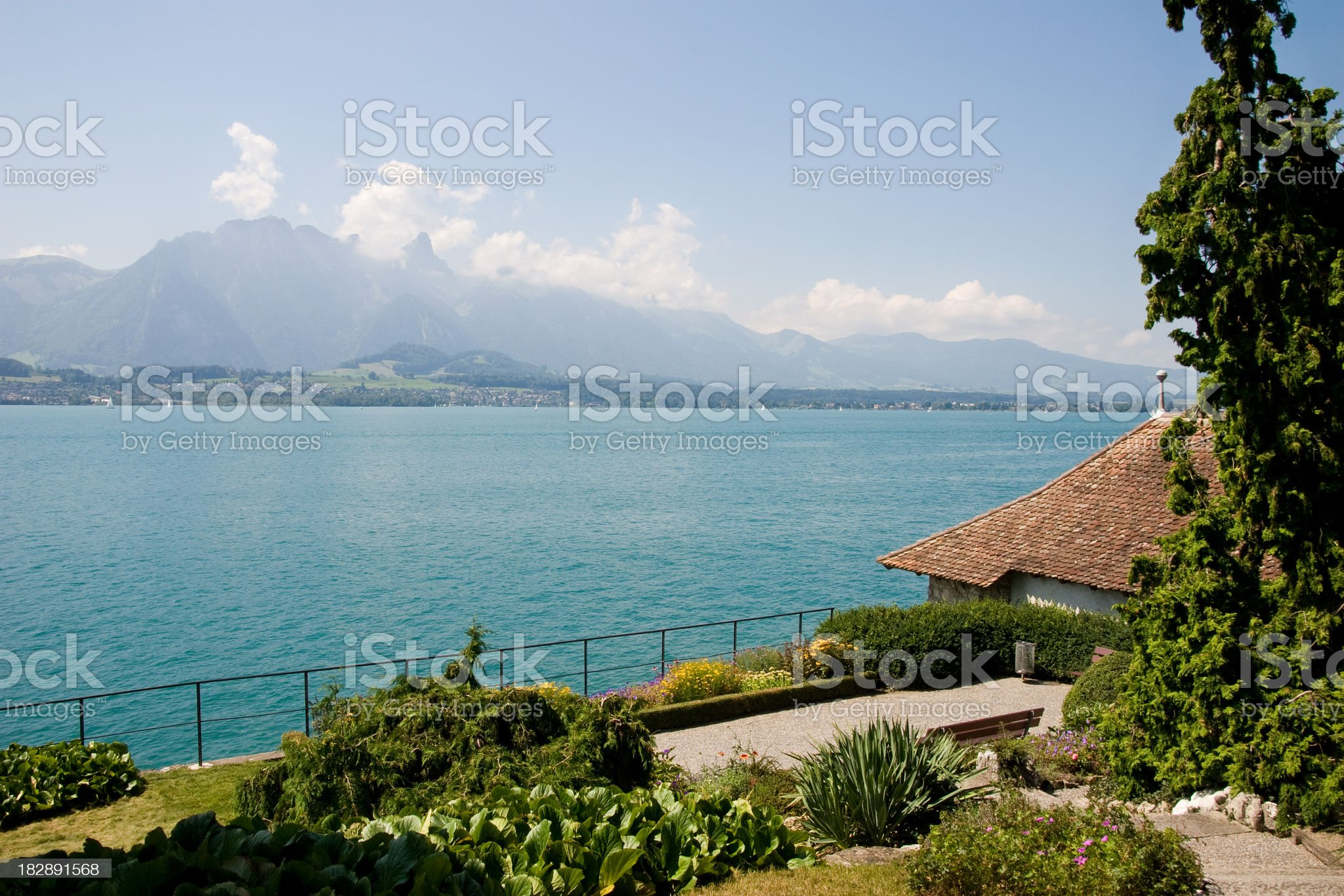 Lake Thun royalty-free stock photo