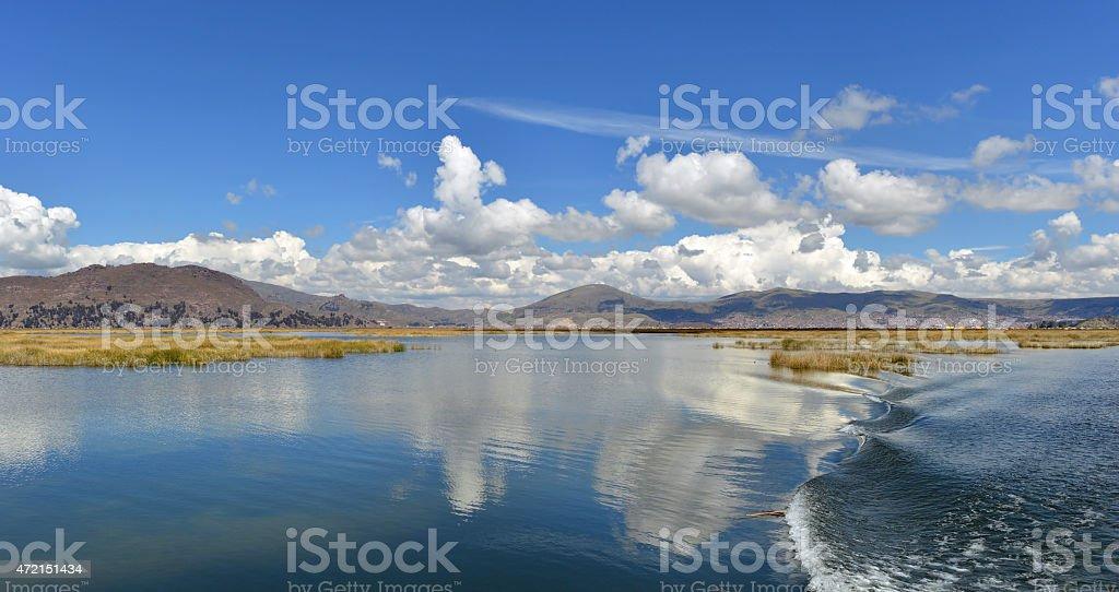 Lake Titicaca, Peru stock photo