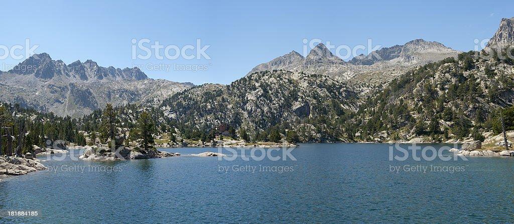 Lake Trullo stock photo