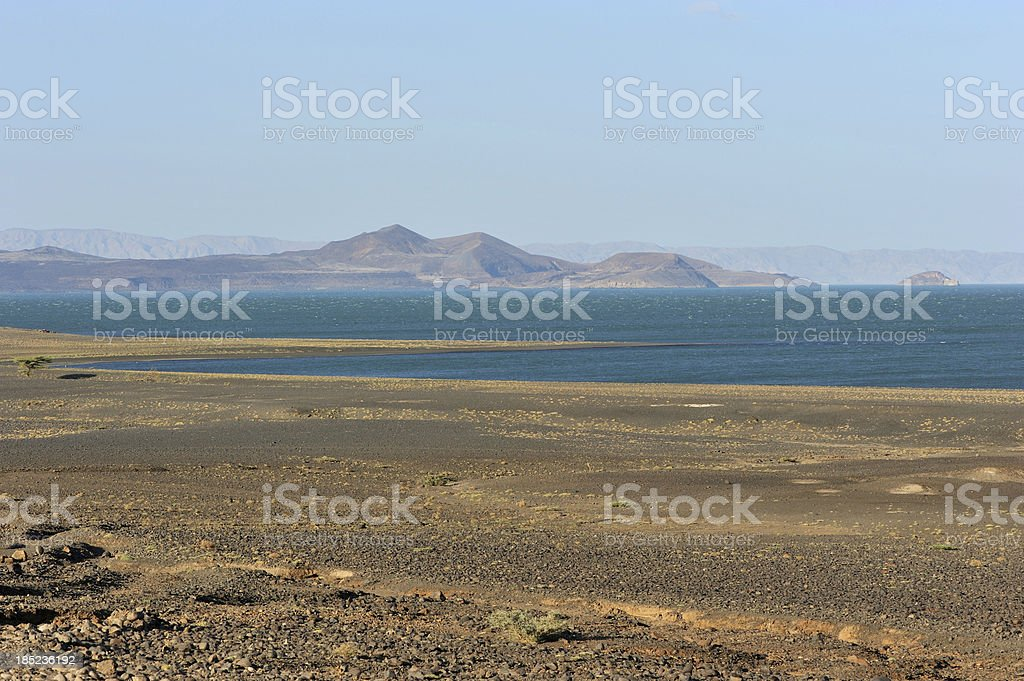 Lake Turkana, Kenya, Africa stock photo