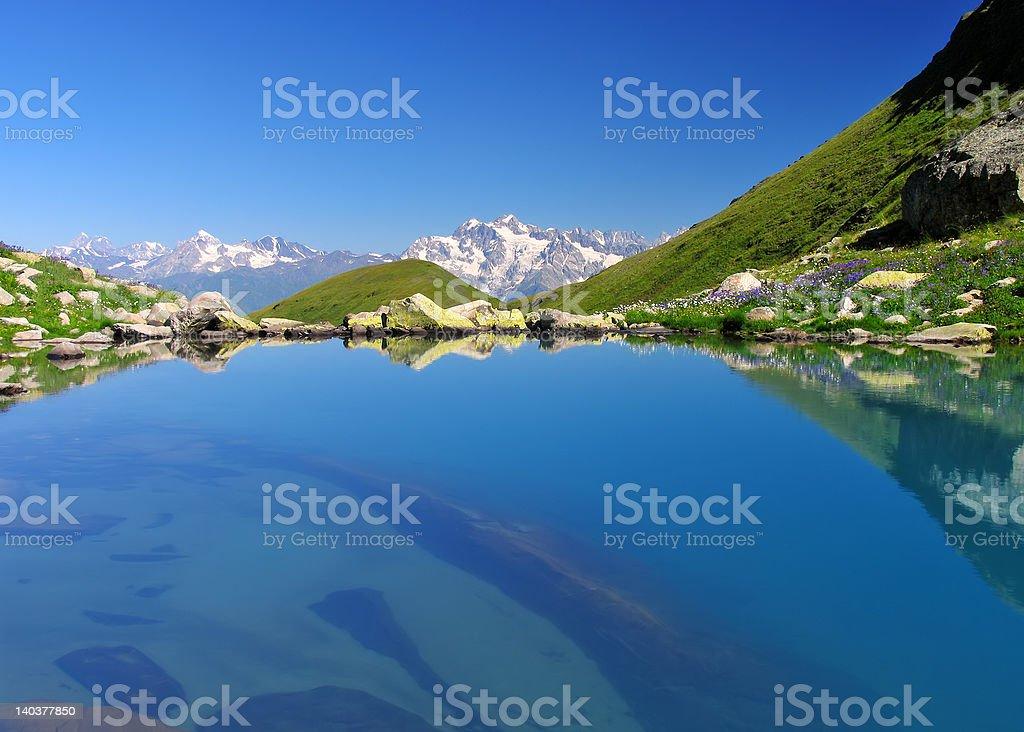 Lake ''Udziro'' stock photo